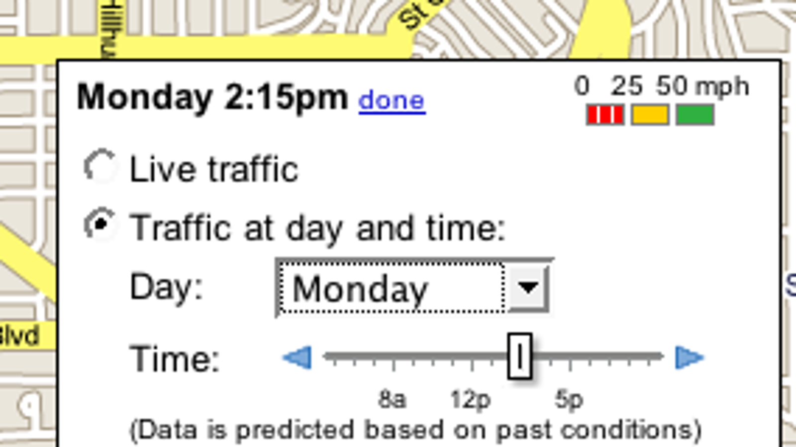 Dallas Real Time Traffic Map.Google Maps Predicts Traffic Conditions For Your Travel Time