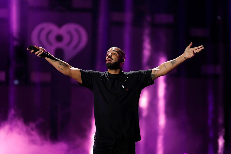 Rapper Drake performs  at the 2016 iHeartRadio Music Festival at T-Mobile Arena in Las Vegas on Sept. 23, 2016. (Christopher Polk/Getty Images for iHeartMedia)