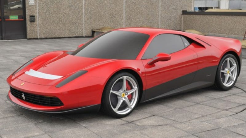 Illustration for article titled This Is Eric Clapton's Custom $4.7 Million Ferrari