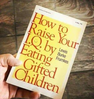 Illustration for article titled I've just eaten a kid