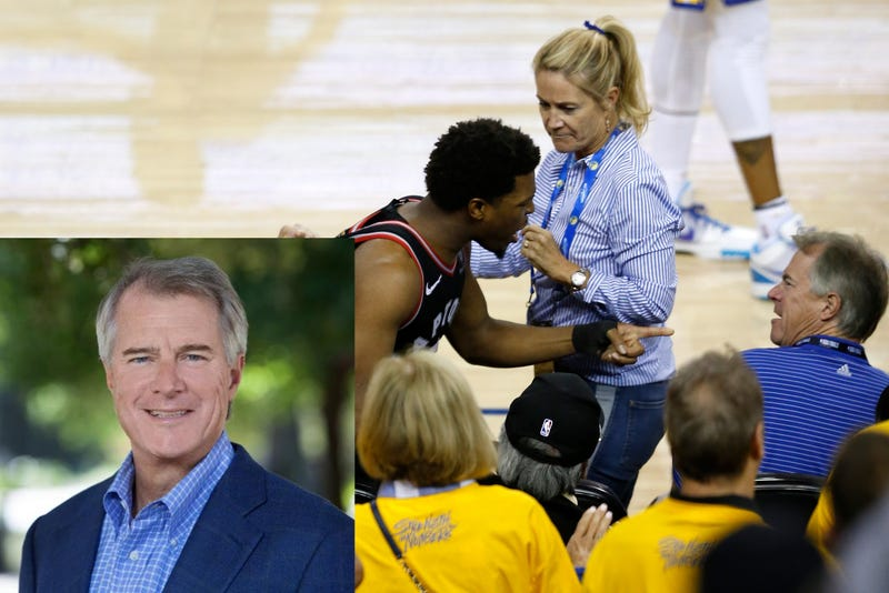 Illustration for article titled The Old Knob Who Shoved Kyle Lowry Is Warriors Minority Owner Mark Stevens [Update]