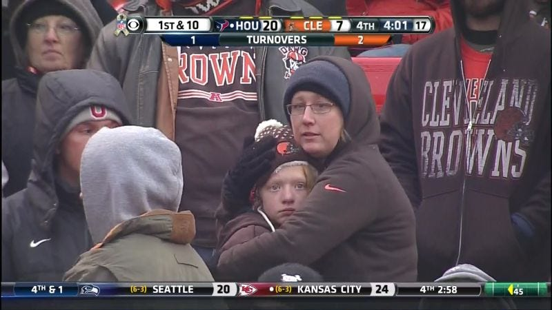 Illustration for article titled Factory Of Sadness Gets A Sadness Upgrade With Browns Montage Set To Adele