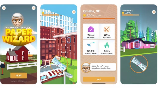 Apple Releases Its Second iOS Game Ever, and It s a Tribute to Getting Filthy Rich