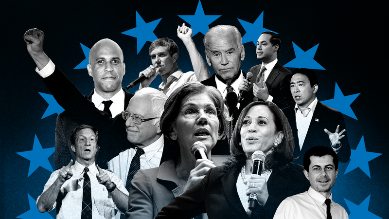 Illustration for article titled Bernie Can't Say Our Name, Beto Has No Shame, and Biden Can't Be Tamed: 2020 Presidential Black Power Rankings, Week 14