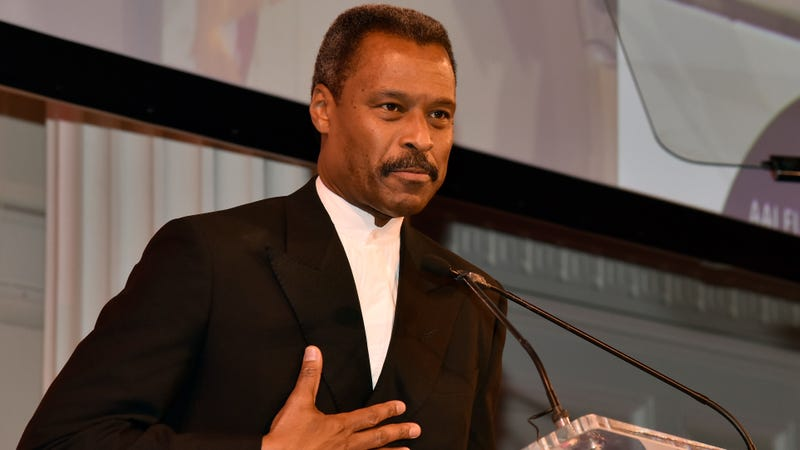 John Sylvanus Wilson at the Future Leaders Legacy Fund Awards gala, hosted by the Africa-America Institute, on Sept. 29, 2015, in New York City