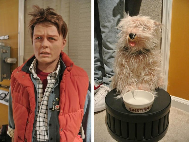 Illustration for article titled This Life-Sized Marty McFly is Creeping Me Out