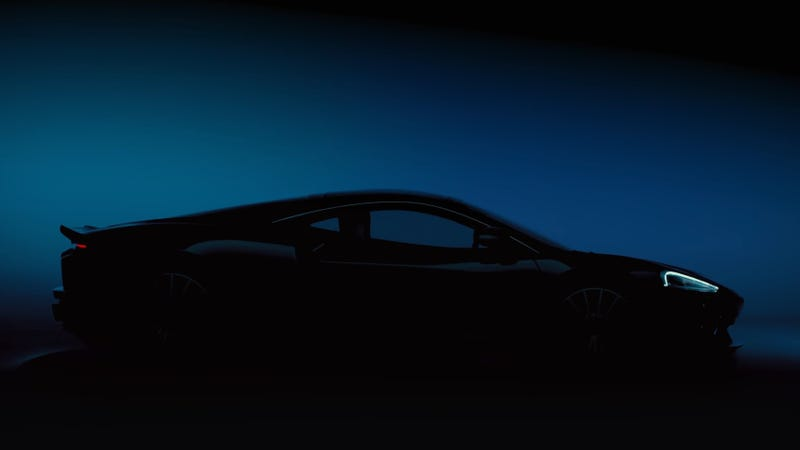 Illustration for article titled The McLaren GT Will Officially Break Cover Next Week