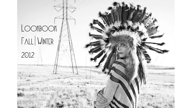 Illustration for article titled Colorado Boutique Cluelessly Uses Native American Headdresses To Sell Designer Clothing [Updated]