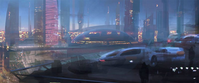 Illustration for article titled First Mass Effect 2 Artwork