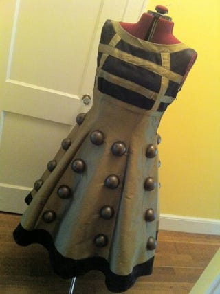 Illustration for article titled How to Make Your Own Amazing Dalek Dress