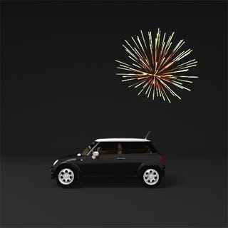 Illustration for article titled Forget the Panic Button: Fireworks Will Help Lead You To Your Car