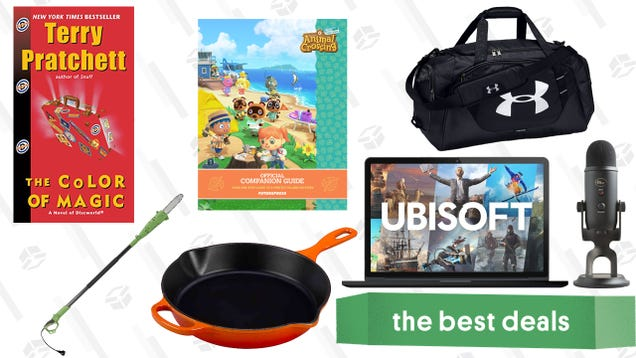 Sunday s Best Deals: Blue Yeti Microphones, Skillets, Animal Crossing: New Horizons Guides, and More