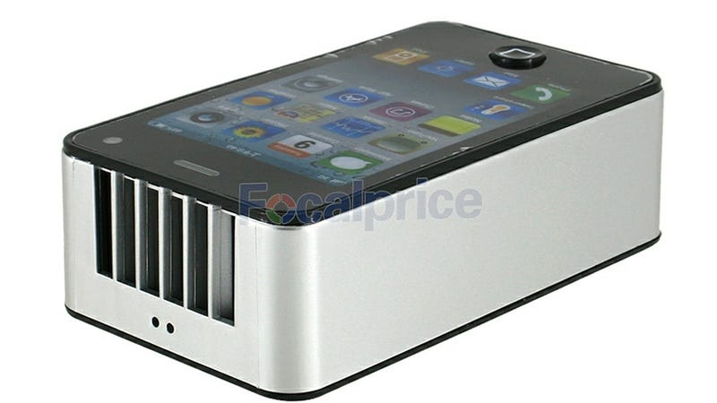 Illustration for article titled Who Is This Fake iPhone Mini Air Conditioner Going To Fool?