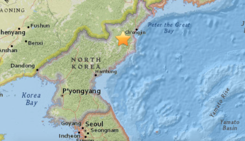 Illustration for article titled Earthquake Detected Near North Korea's Nuclear Test Site