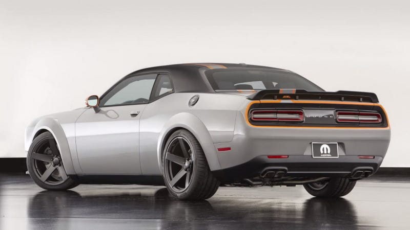 Illustration for article titled The Dodge Challenger Is Finally Going All-Wheel Drive: Report (Updated)