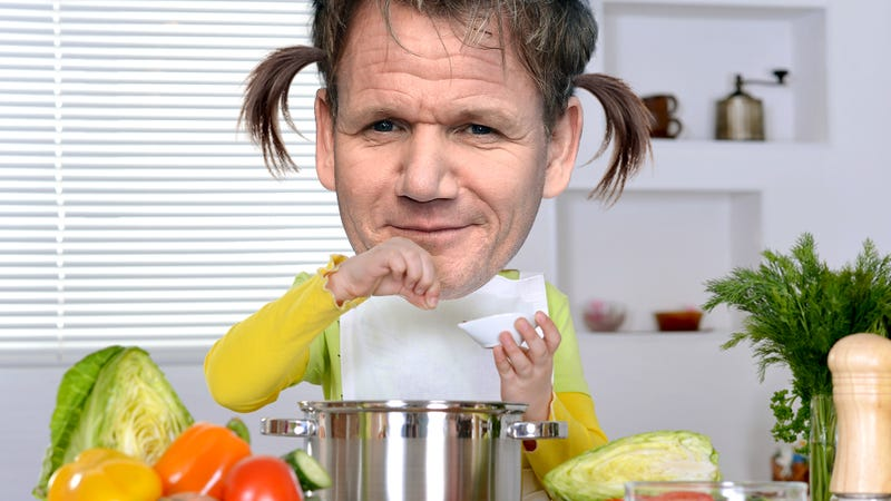 Illustration for article titled Gordon Ramsay's Kid Will Host A Cooking Show, For Some Reason