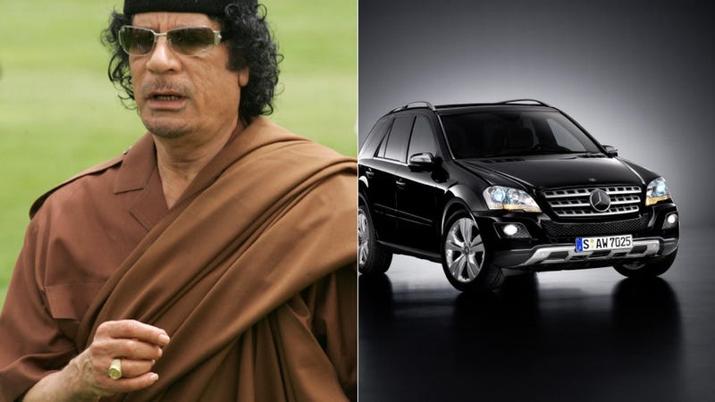 Illustration for article titled France Sold Qaddafi a Electronics-Blasting Stealth Super Mercedes SUV