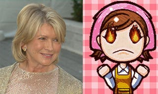 Illustration for article titled Cooking Mama In Trouble As Martha Stewart Enters The Video Game Business