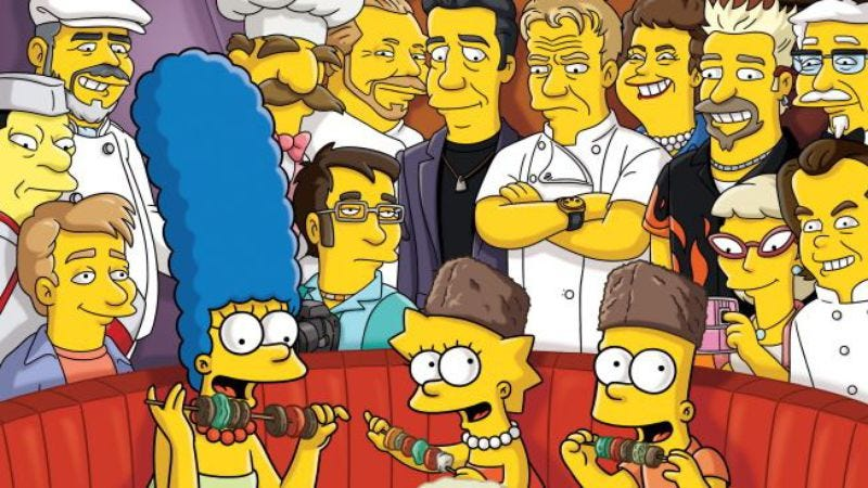 """Illustration for article titled The Simpsons: """"The Food Wife"""""""