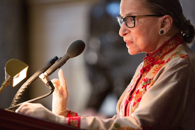 Illustration for article titled Ruth Bader Ginsburg Tells Women to Grab 2015 By the Horns