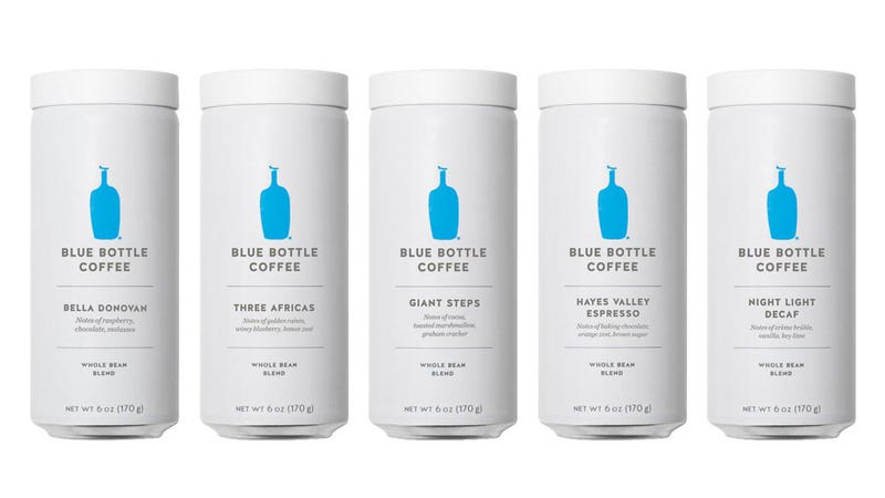 Illustration for article titled Blue Bottle recalls highly touted coffee bean cans due to explosions