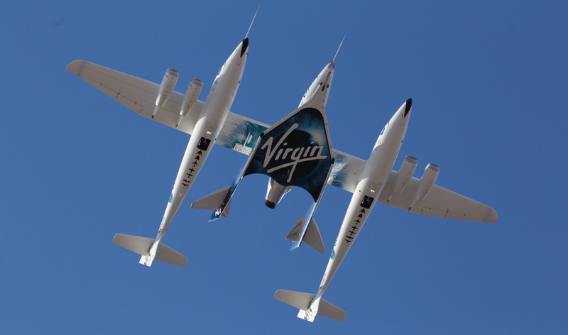 Today's flight was the 12th for the VSS Unity, and its first powered flight.