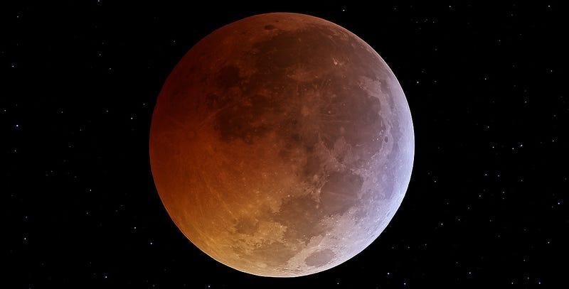 Illustration for article titled ¿Cómo y a qué hora se podrá ver el eclipse lunar total del martes 15?