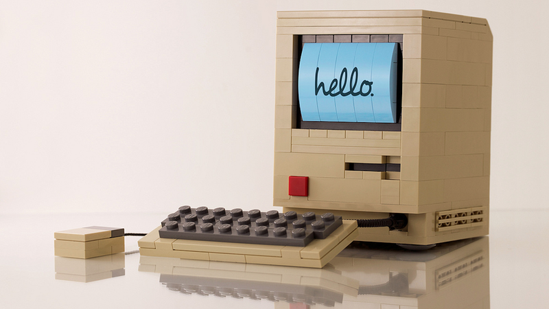 Illustration for article titled The Most Perfect Lego Recreation of the Original Macintosh Humanly Possible