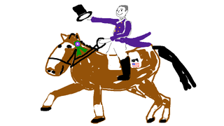 Illustration for article titled Ann Romney's Horse Hangs Out With Assholes