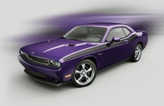 Illustration for article titled 2010 Challenger R/T Plum Crazy