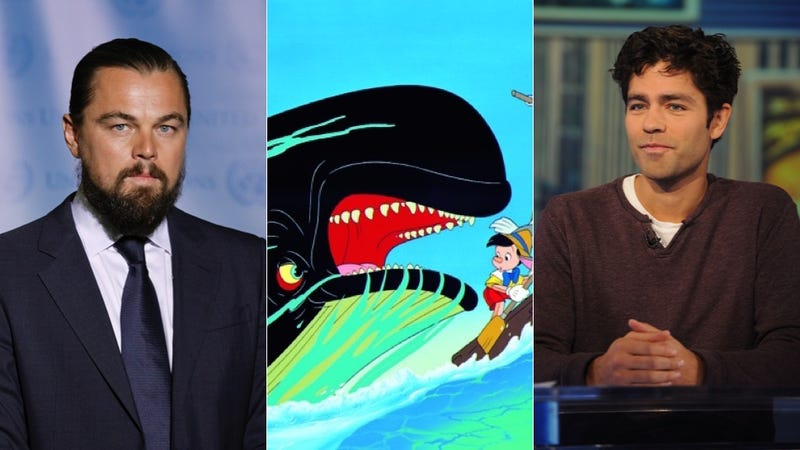Illustration for article titled Leonardo DiCaprio to Adrian Grenier: Let's Find That Whale, Bro