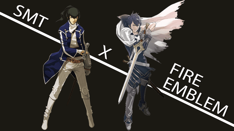 Illustration for article titled Shin Megami Tensei x Fire Emblem Could Totally Be A Dress-Up Sim (And Other Wild Theories)
