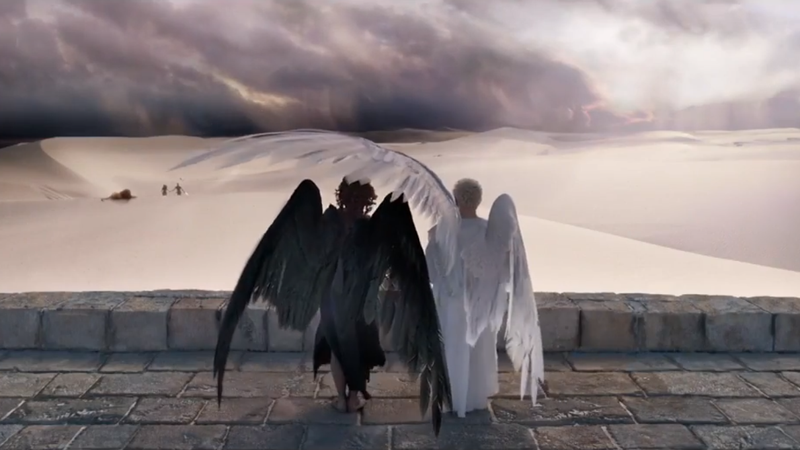 Oh god, this idiotic Good Omens petition is one hell of a mess