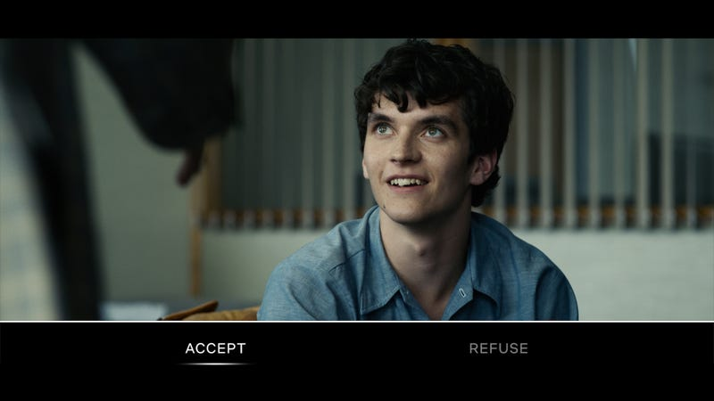 "Illustration for article titled Choose Your Own Adventure publisher suing Netflix, says ""Bandersnatch"" is ""tarnishing"" its reputation"