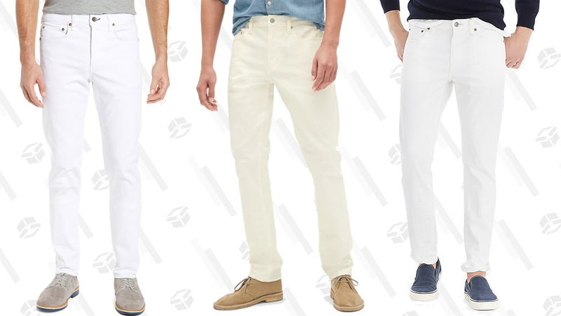 Illustration for article titled The Best White Jeans For Guys at Every Price Point