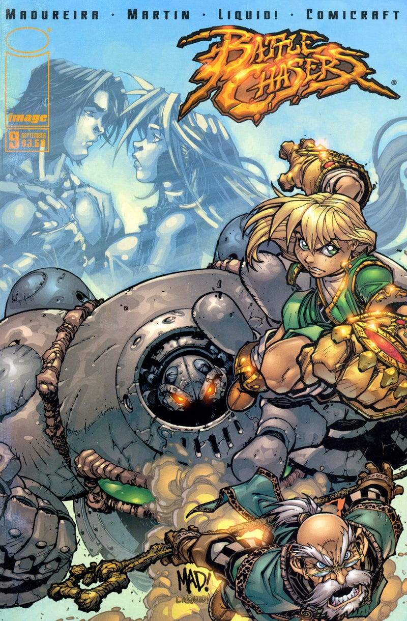 Illustration for article titled The Return of Battle Chasers!!!