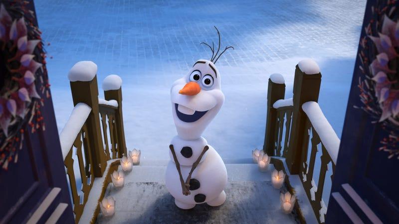 Olaf's Frozen Adventure. Image: Walt Disney Studios