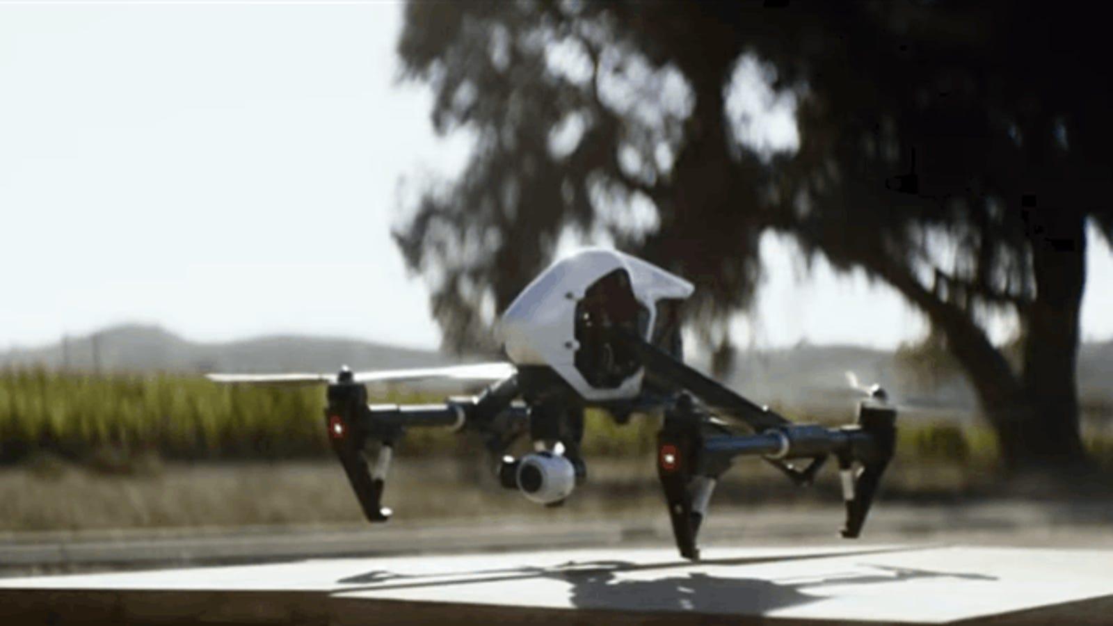 27 minutos de vuelo a 108 Km/h: el DJI Inspire 2 es el primer dron con dos cámaras para uso profesional