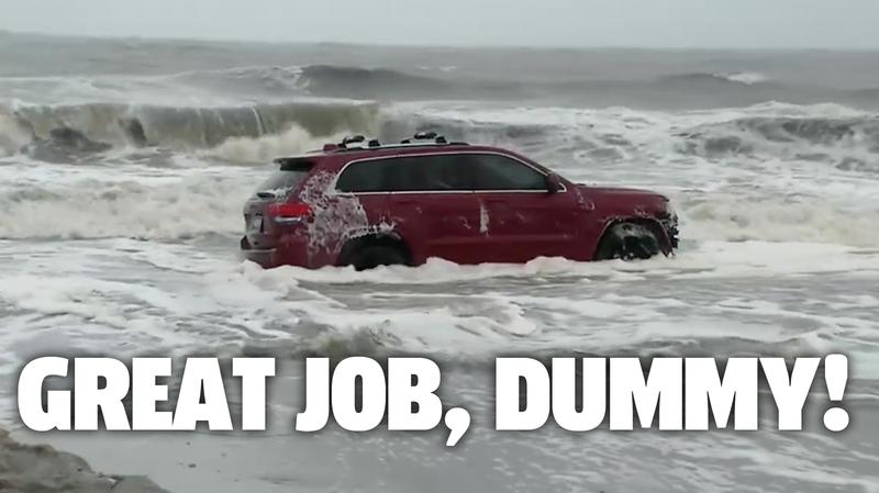 Illustration for article titled Reminder: Cars Can't Surf