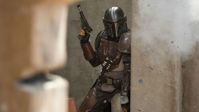 The Disney+ panel, featuring The Mandalorian, won't be streaming.