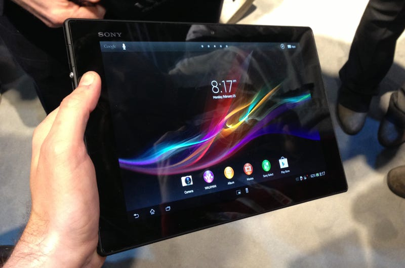 Illustration for article titled Primeras impresiones de Sony Tablet Xperia Z