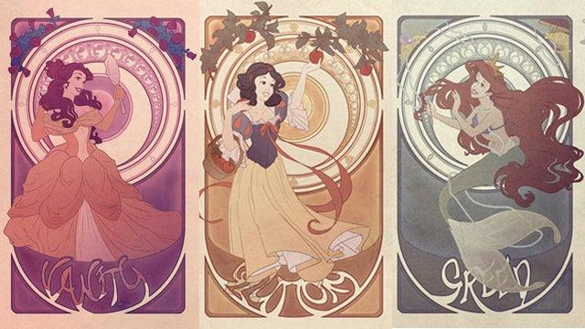 The Seven Deadly Sins Of Disney Princesses