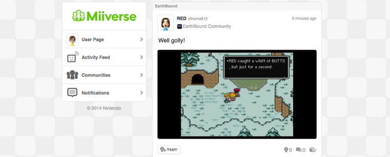 Illustration for article titled Stay classy Miiverse...