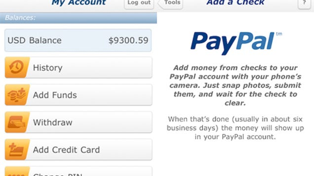 how to delete paypal account app