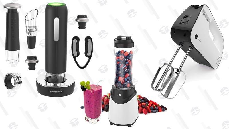 Vremi 9 Piece Wine Gift Set | $16 | Amazon | Promo code VREMI40APRILVremi Hand Mixer | $12 | Amazon | Promo code VREMI40APRILVremi Personal Blender | $15 | Amazon | Promo code VREMI40APRIL