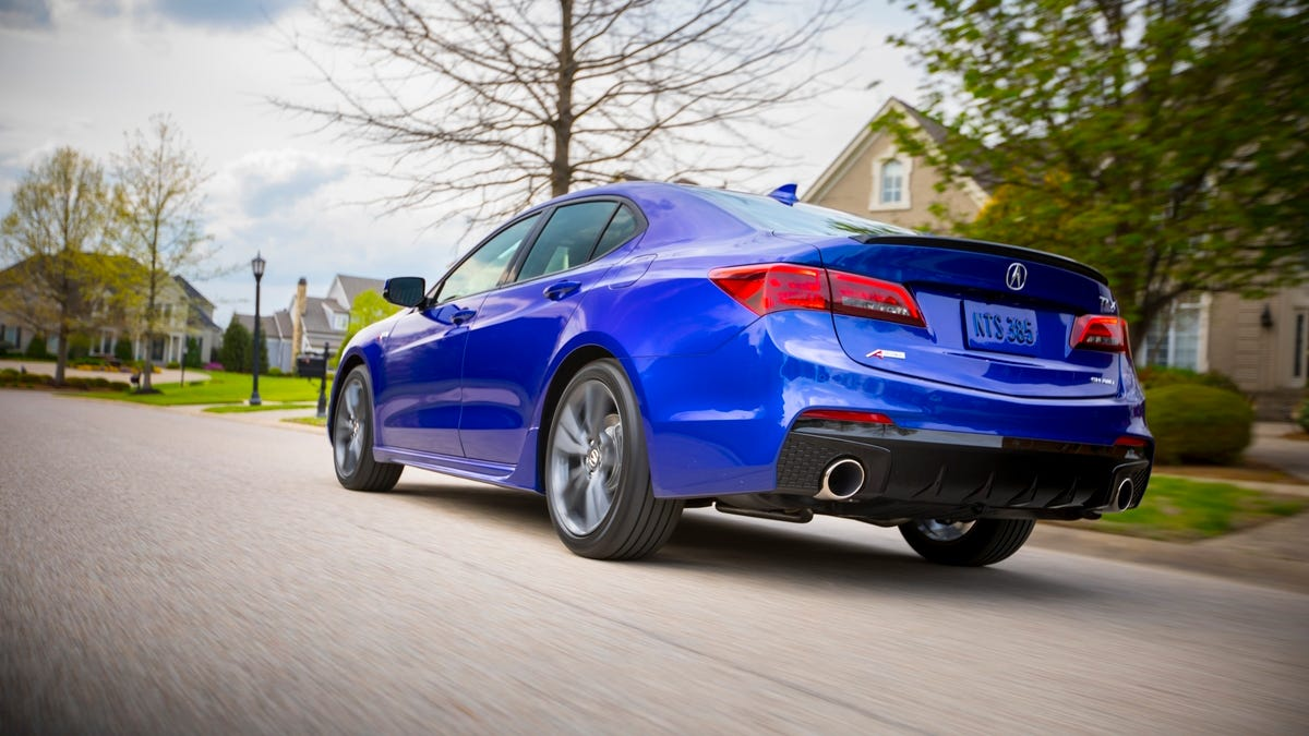 Tlx A Spec >> The 2018 Acura Tlx A Spec Is A Sport Sedan Without The Sport