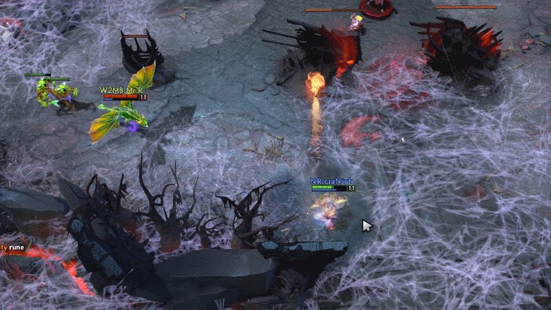 This Is What A Pacifist Run Looks Like In A Pro Dota 2 Match