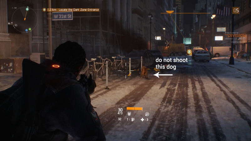Illustration for article titled Leave The Division's Poor Dog Alone