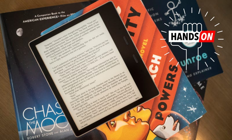 Amazon Kindle Oasis 3rd Generation Hands On: Still the Best