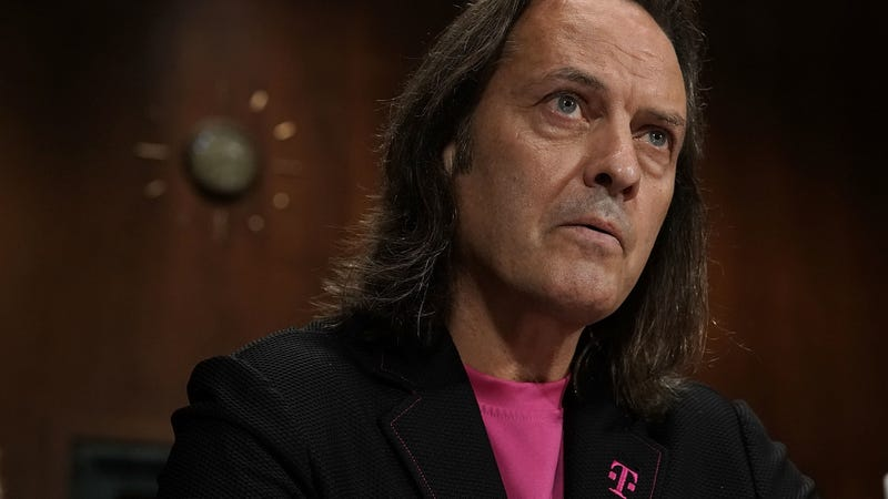 T-Mobile John Legere testifies before the Antitrust, Competition Policy, and Consumer Rights Subcommittee of Senate Judiciary Committee in 2018